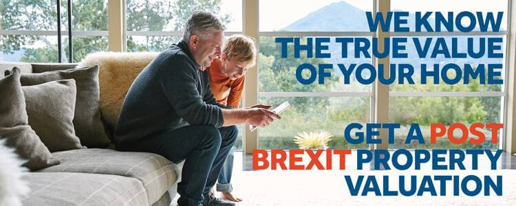 Get an online free post Brexit valuation today